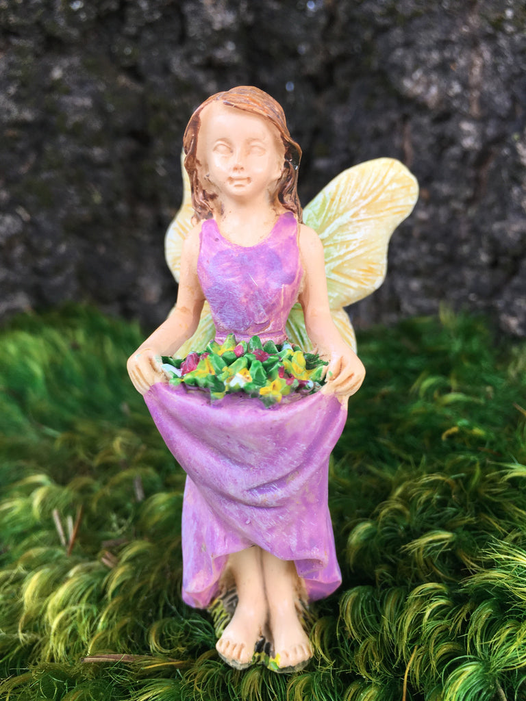 Fairy with flowers