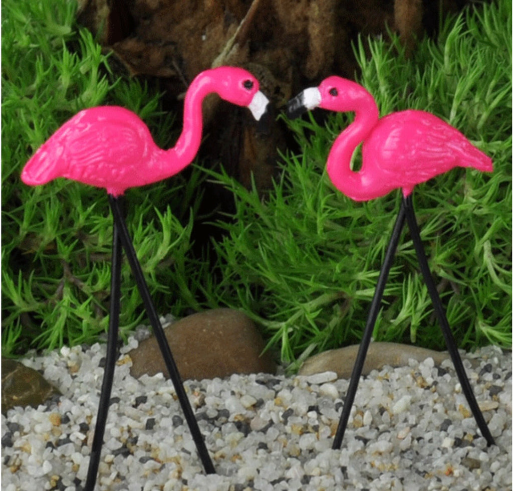 Flamingo for fairy garden