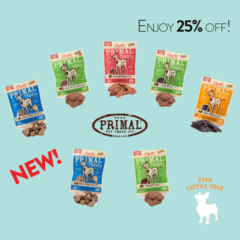 Primal Dog Treats Promotions