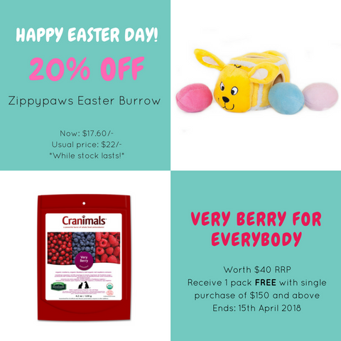 Zippypaws Easter Bunny Burrow And Cranimals Giveaway Promotion