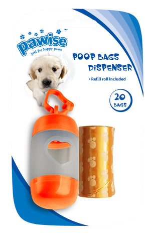 Pawise Poop Bag Dispenser | Toilet Needs
