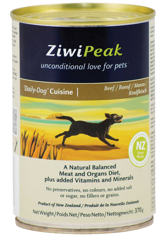 ZiwiPeak Daily-Dog Beef Cuisine Canned Dog Food | Wet Food