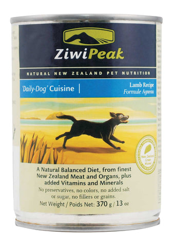 ZiwiPeak Daily-Dog Cuisine Lamb Canned Dog Food | Wet Food
