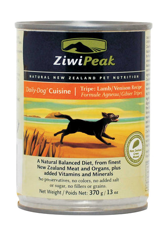 ZiwiPeak Daily-Dog Cuisine Lamb, Venison & Tripe Canned Dog Food | Wet Food