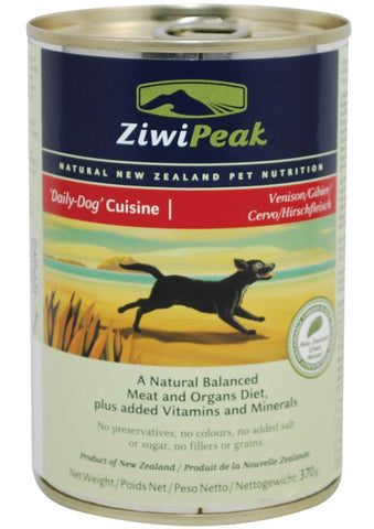 ZiwiPeak Daily-Dog Cuisine Venison Canned Dog Food | Wet Food