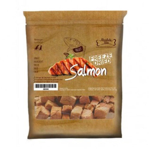 Absolute Bites - Freeze Dried Salmon Treats (56g) | Treats