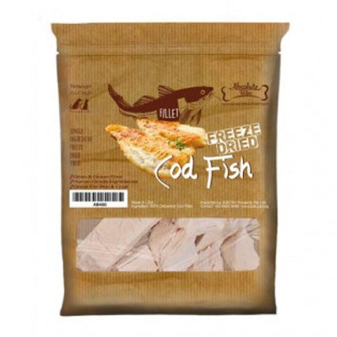 Absolute Bites - Freeze Dried Cod Fish Treats (56g) | Treats