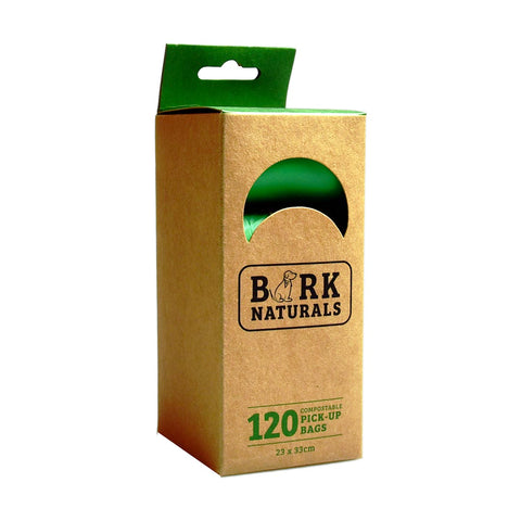 Bark Naturals Eco Pick-Up Bags (ASTM D6400 Certified)