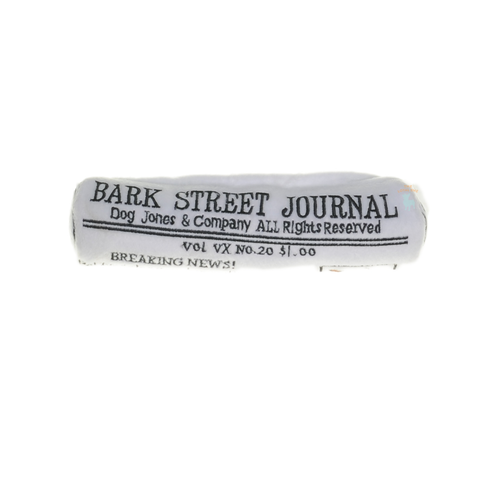 Bark Street Journal Dog Toy | Toy