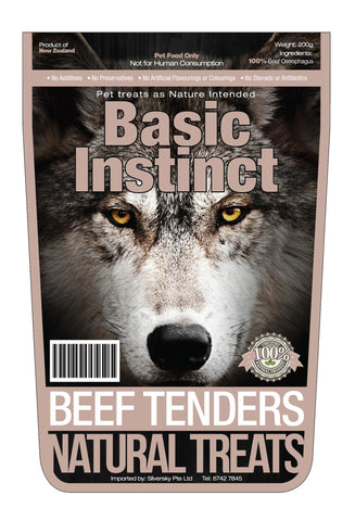 Basic Instinct Beef Tenders | Treats - 1