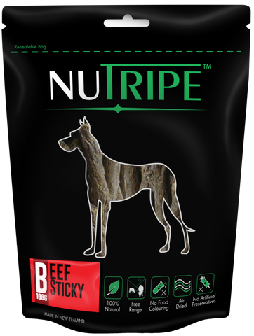 Nutripe Beef Sticky (100g) | Treats