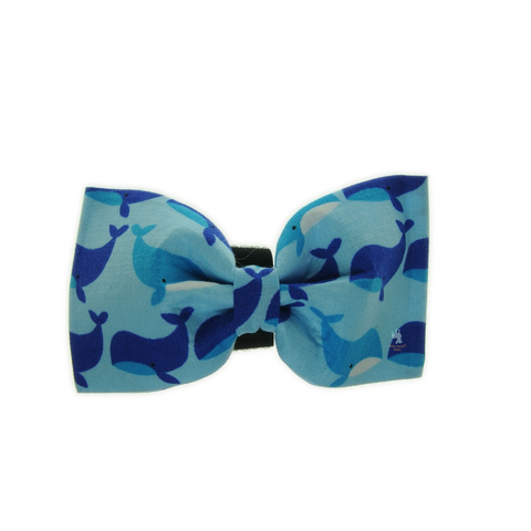 Handmade For Pets - Blue Whales Bowtie | Fashion