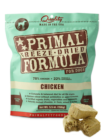 Primal Canine Chicken Formula (Freeze Dried) | Freeze Dried Food - 1