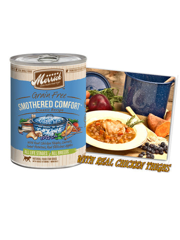 Merrick Classic Grain Free Smothered Comfort 374g | Wet Food