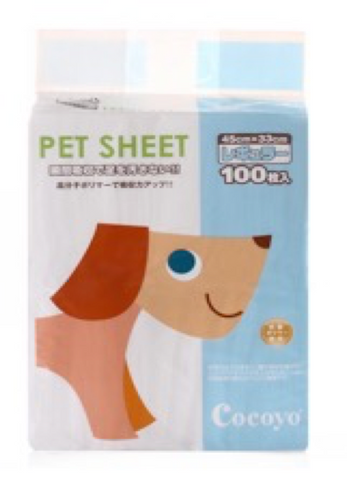 Cocoyo Pet Sheet - Small (100pcs) | Toilet Needs