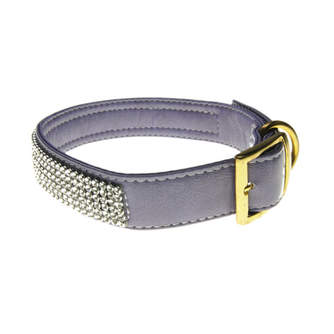 Bling Fashion Collar (Heather Purple) | Accessories