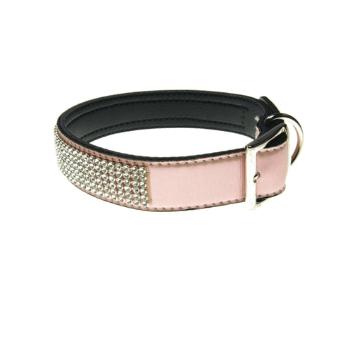Bling Fashion Collar (Satin Pink) | Accessories