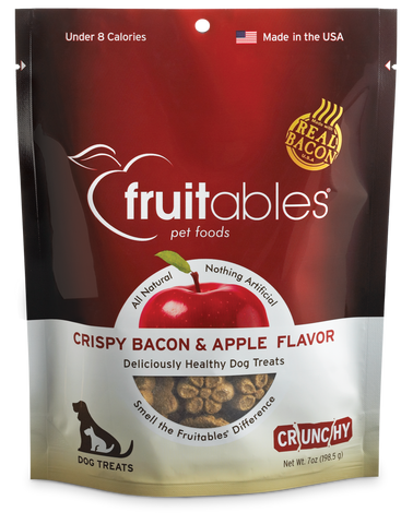 Fruitables Crispy Bacon & Apple 7oz | Treats