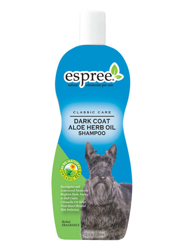 Espree Dark Coat Aloe Herb Oil Shampoo | Grooming