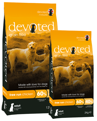 Devoted Free Run Chicken (Grain Free) | Dog Dry Food