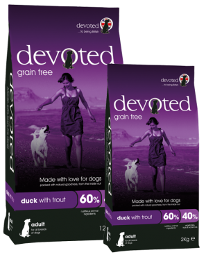 Devoted Duck With Trout (Grain Free) | Dog Dry Food