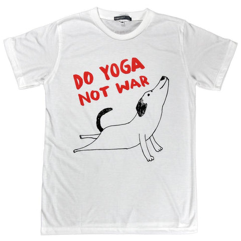 Do Yoga Not War Unisex Graphic T-shirt