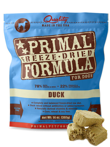 Primal Canine Duck Formula (Freeze Dried) | Freeze Dried Food - 2