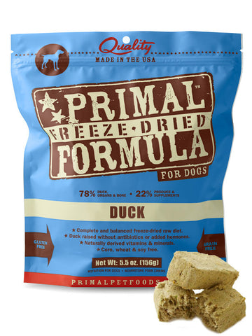 Primal Canine Duck Formula (Freeze Dried) | Freeze Dried Food - 1
