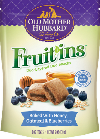 Old Mother Hubbard Fruit In Honey, Oatmeal & Blueberries 6oz | Treats