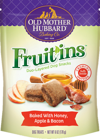 Old Mother Hubbard Fruit In Honey, Apple & Bacon 6oz | Treats