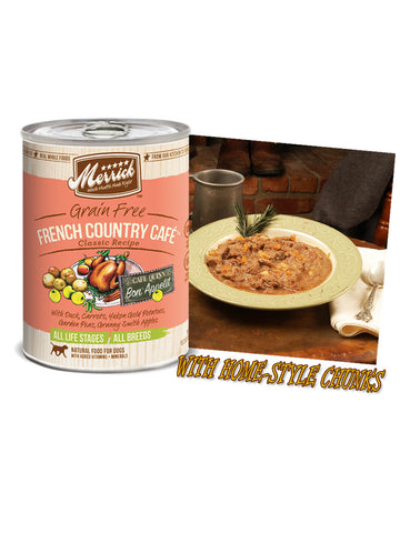 Merrick Grain Free French Country Cafe 374g | Wet Food