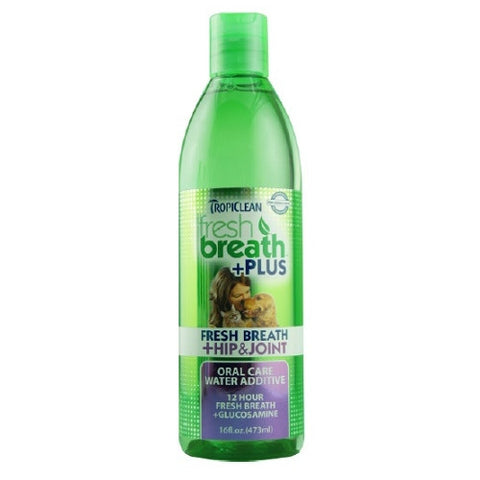 Tropiclean - Fresh Breath Water Additive +Plus Hip And Joint | Grooming