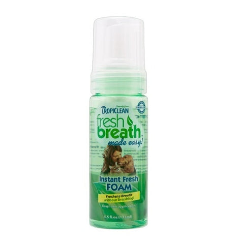 Tropiclean - Fresh Breath Mint Foam | Grooming
