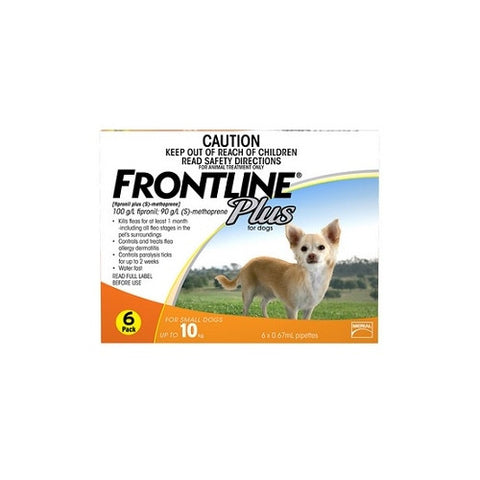 Frontline Plus for Small Dogs up to 10kg | Grooming