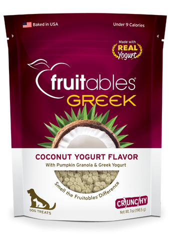Fruitables Greek Yogurt Coconut 7oz | Treats