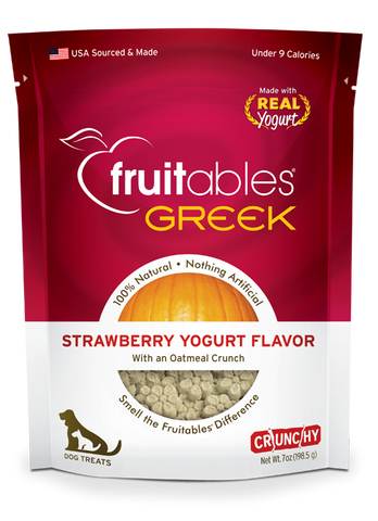 Fruitables Greek Yogurt Strawberry 7oz | Treats