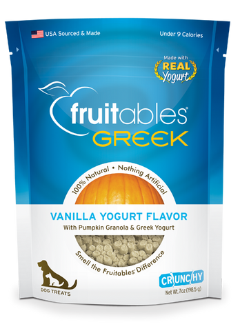 Fruitables Greek Yogurt Vanilla 7oz | Treats