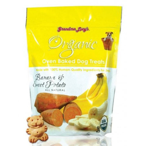 Grandma Lucy's Organic Oven Baked Banana & Sweet Potato Biscuit | Treats