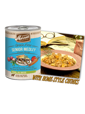 Merrick Grain Free Senior Medley 374g | Wet Food