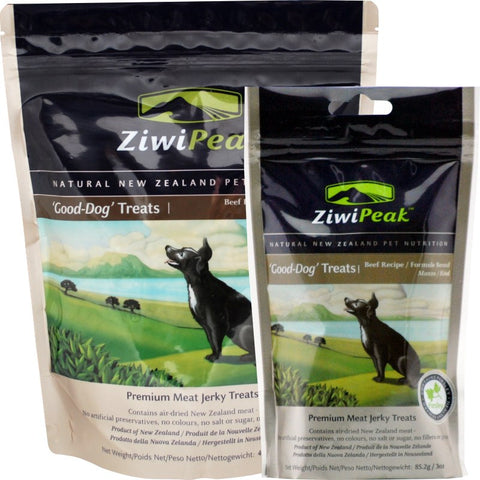 ZiwiPeak Good-Dog Beef Jerky Dog Treats | Treats