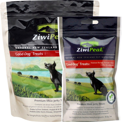ZiwiPeak Good-Dog Venison Jerky Dog Treats | Treats
