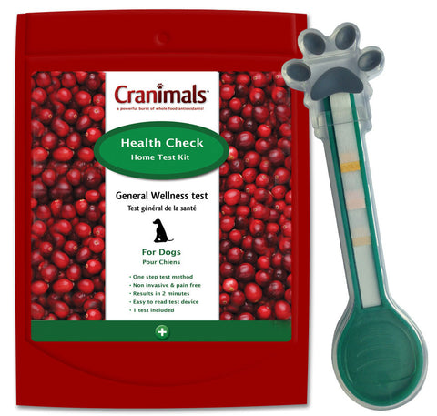 Cranimals Health Check Test For Dogs | Canine Supplements