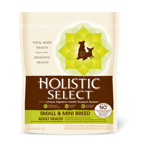 HOLISTIC SELECT - Small & Mini Breed Anchovy, Sardine & Chicken Meal Dry Dog Food | Dog Dry Food - 1
