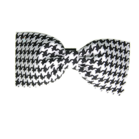 Handmade For Pets - Houndstooth Bowtie (Black) | Fashion