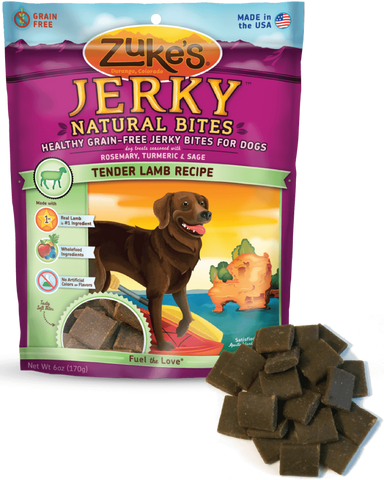 Zuke's: Healthy Grain-Free Jerky Bites (Lamb) 6oz | Treats