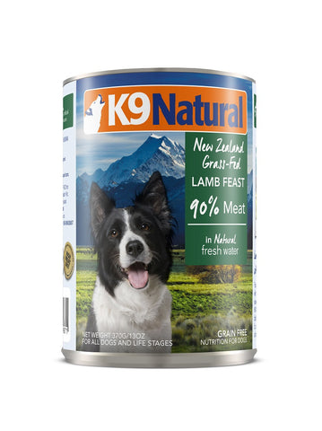 K9 Natural Lamb Can Dog Food (370g) | Wet Food