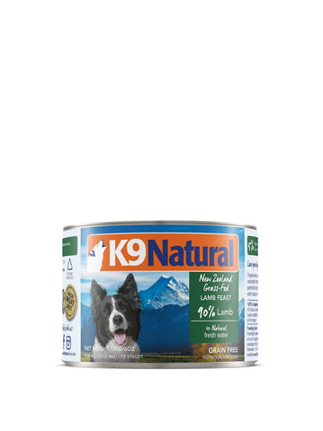 K9 Natural Lamb Can Dog Food (170g) | Wet Food
