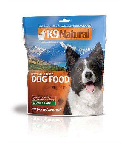 K9 Natural Freeze-Dried Lamb Feast | Freeze Dried Food