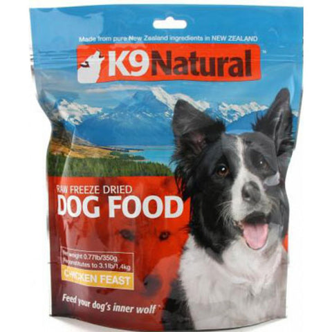 K9 Natural Freeze-Dried Chicken Feast | Freeze Dried Food