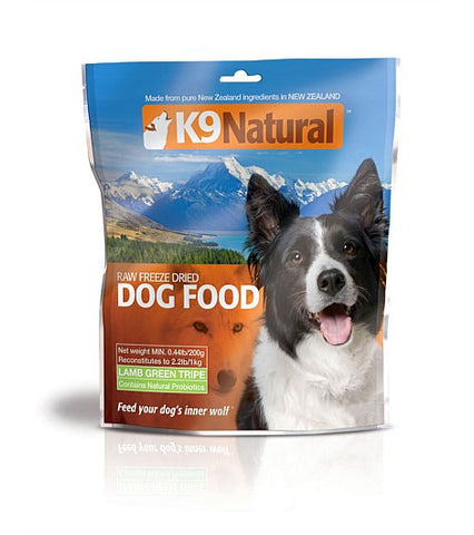 K9 Natural Freeze-Dried Lamb Green Tripe | Freeze Dried Food